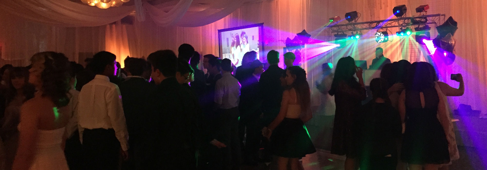 Crew Entertainment Professional DJ for Proms with Upgraded Dance Lights